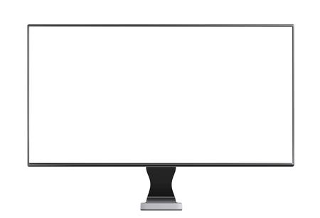 monitor isolated on white background Stock Photo