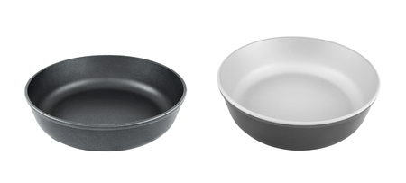 pans isolated on white background Stock fotó