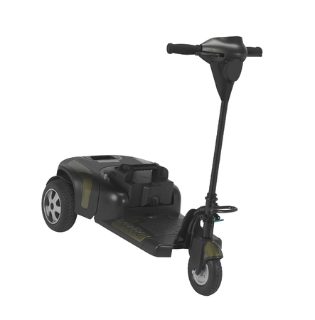 electric scooter isolated on white background Banco de Imagens - 106128635