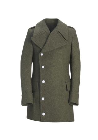 coat isolated on white background