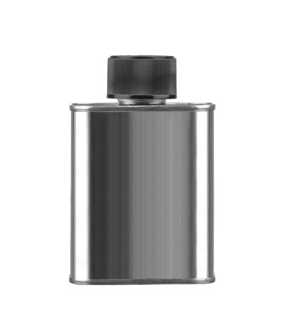 Gray Aerosol Spray Metal Bottle Can isolated on white background 写真素材