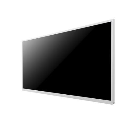 monitor isolated on white background 免版税图像