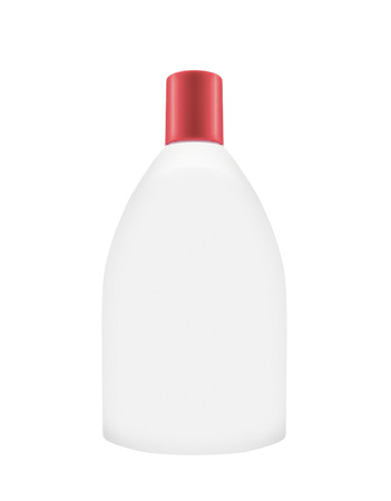 Shampoo bottle on the white background Banque d'images - 106130304