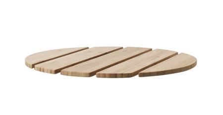 planks of wood isolated on white background