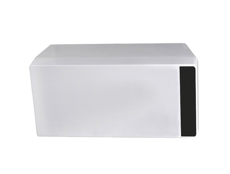 garbage container isolated on a white background Banque d'images - 106130316