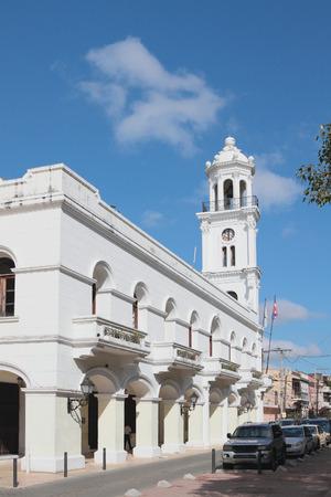 domingo: Konsistory palace. Santo Domingo, Dominican republic Editorial