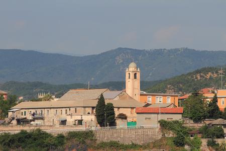suburb: Suburb in Liguria. Savona, Italy