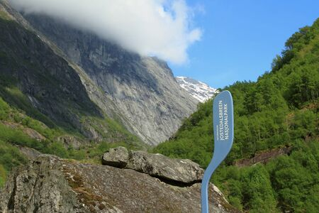 nformation: Information index of national park of quotJostedalsbreenquot Norway