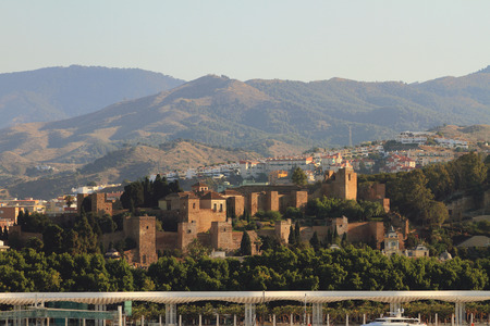 serf: Alcazaba. Malaga, Spain