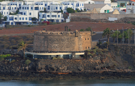 san jose: Fortress of San Jose. Arrecife, Lanzarote, Spain