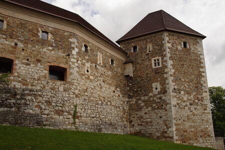 ljubljana: Ljubljana castle. Ljubljana, Slovenia