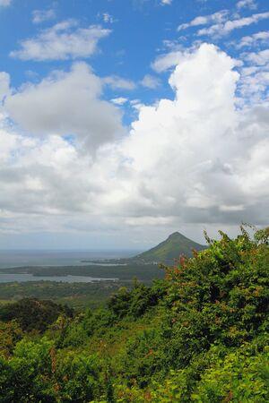 noire: Island in tropics. Riviere Noire, Mauritius