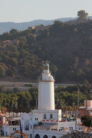 malaga: La Farola de Malaga. Spain