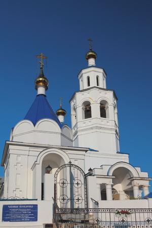 Chapel and Pyatnitsky church. Kazan, Tatarstan, Russia