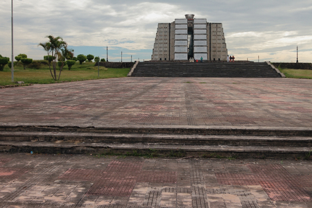 Columbuss beacon. Santo Domingo, Dominican Republic