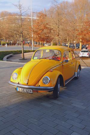Stuttgart, Baden-Wurttemberg, Germany - Jan 06, 2018: Older automobile Editorial
