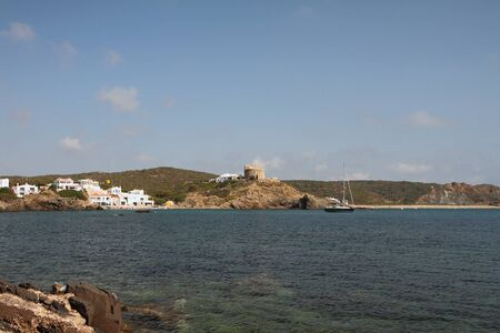 Gulf Cala Mesquida. Mahon, Menorca, Spain Stok Fotoğraf