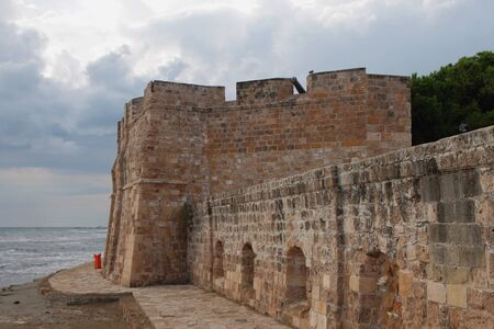 Medieval Ottoman fortress. Larnaca, Cyprus