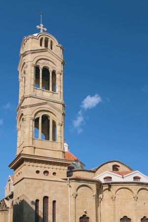 Virgin Faneromeni Church. Nicosia, Cyprus Stok Fotoğraf