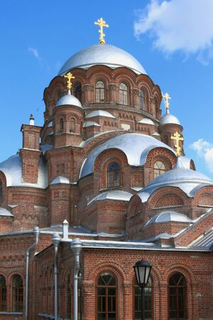 Cathedral of Our Lady of All Grieving Joy. Island-grad Sviazhsk, Tatarstan, Russia