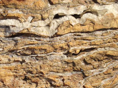 stratigraphy: shale stone Stock Photo