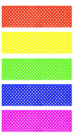 Mesh pattern Bright colors for decoration.with clipping path