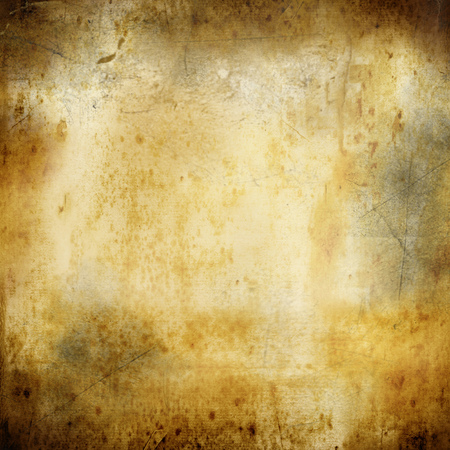 vintage paper stained background with ink Stock Photo
