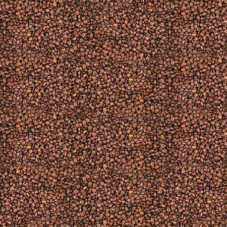 giant background of beans coffee