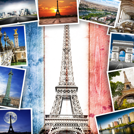 beaucoup de carte postale ancienne de Paris