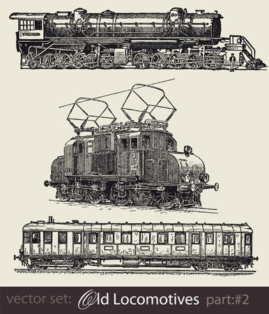 locomotive:  Historical trains