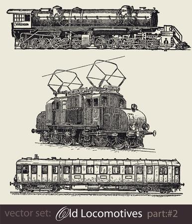 Historische Z�ge Illustration