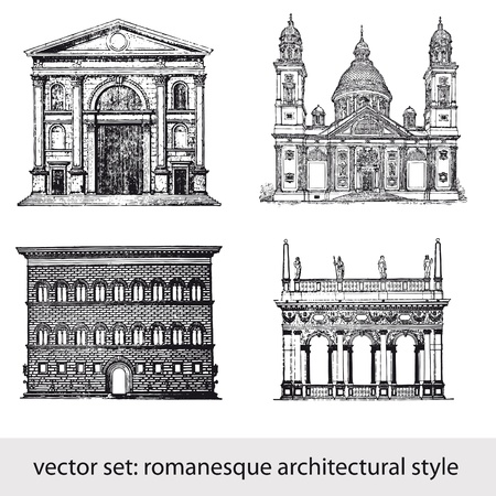 bulding:  romanesque architectural style