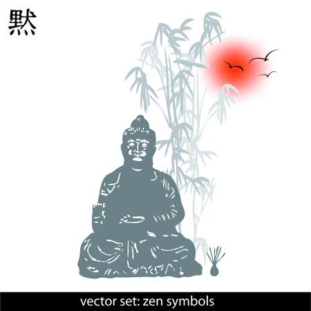 zen Symbolen Illustration