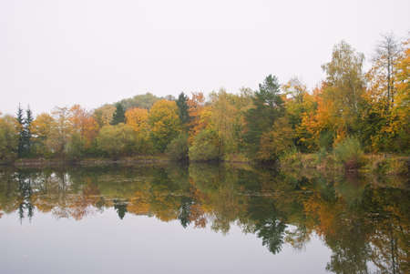 Autumn at the Lake photo