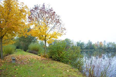 Herbst am See Lizenzfreie Bilder