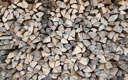 Holz - Brennholz Lizenzfreie Bilder