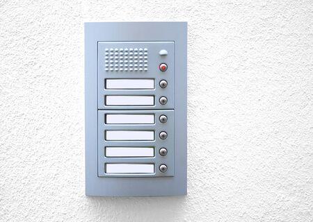 house ringing Stock Photo