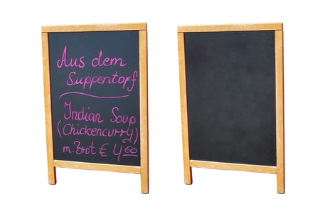 Panel - menu, using for Restaurant or other sale