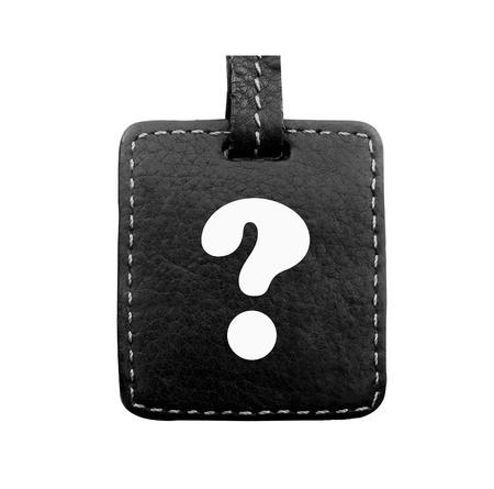 unanswered: Question Mark  Stock Photo