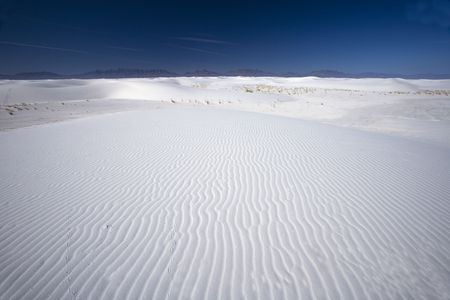 White Sands National Park in New Mexicio USA