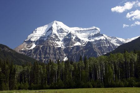 View of Mt Robson