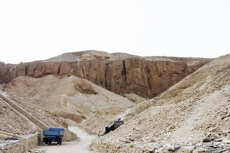 The remote barren Valley of the Kings