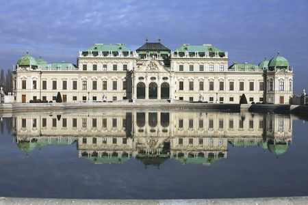 Prince Eugen of Savoy commisioned this palace with his reward for his victories uring the Spanish Succession.