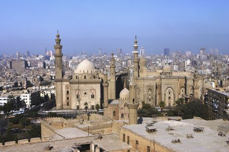 An overview of Cairo from the Citadel