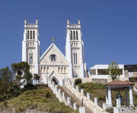 Church in Coonoor India Stock Photo