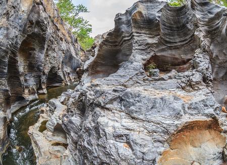 Small canyon Stock Photo