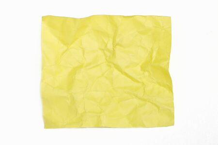 close up of grunge note paper on white background  Stock Photo - 10214905