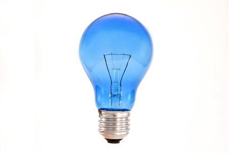 Light bulb on isolated white background.