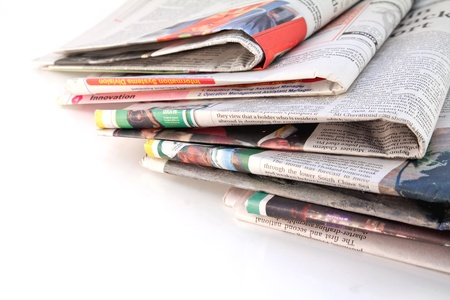 opinion: Old newspapers and magazines in a pile