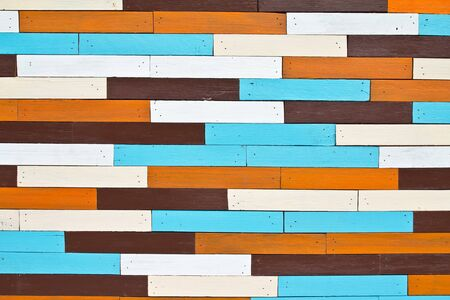 Decorative and colorful wood wall Stock Photo - 15702945